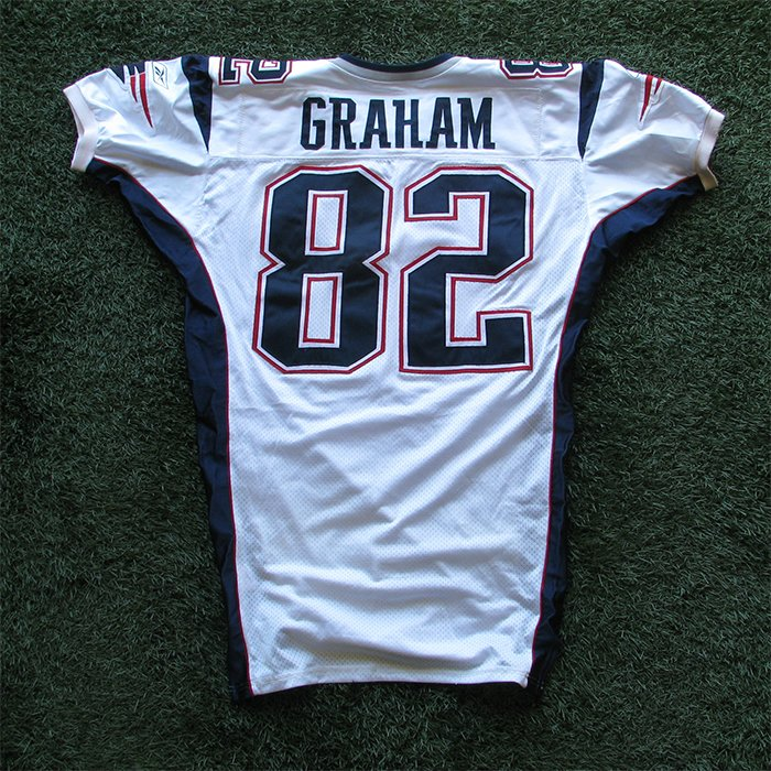 2002 Daniel Graham Team Issued #82 White Jersey