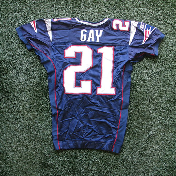 2005 Randall Gay Team Issued #21 Navy Jersey