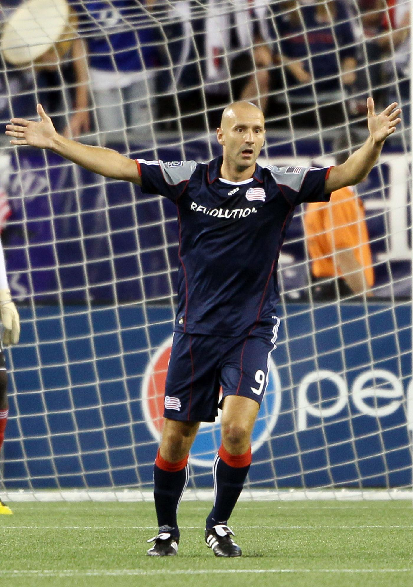 Serbian forward Ilija Stolica is expected to make his first start with the Revs on Saturday against Houston