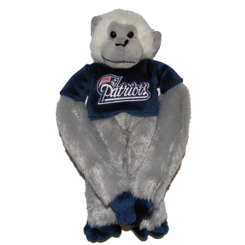 Patriots Silver Rally Monkey