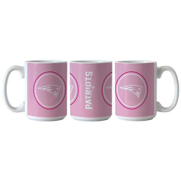 Patriots Sublimated Coffee Mug-Pink