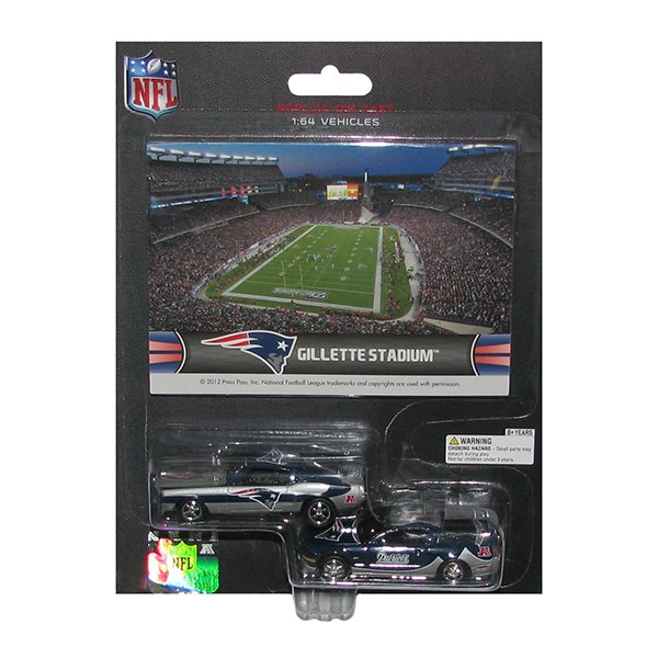 Gillette Stadium Mustang 2pk w/Card