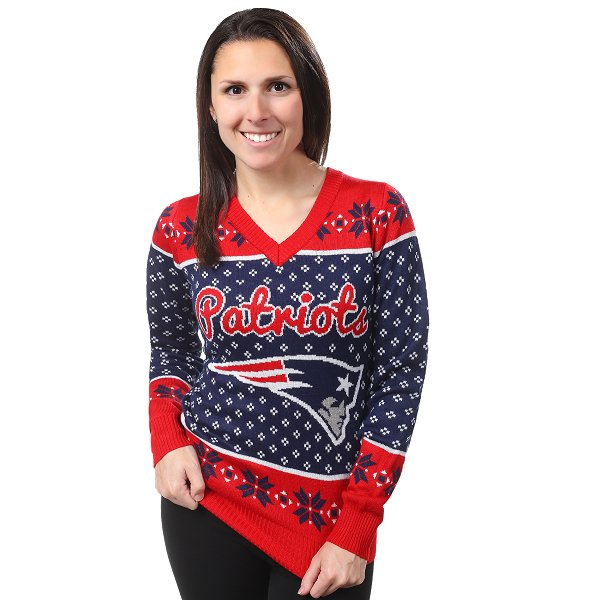 Ladies Big Logo Ugly Sweater