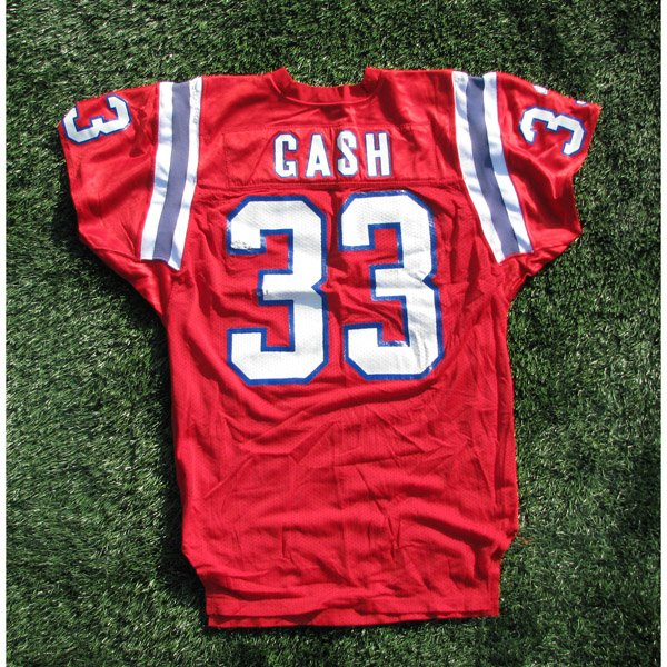 1992 Sam Gash #33 Game Worn Red Jersey
