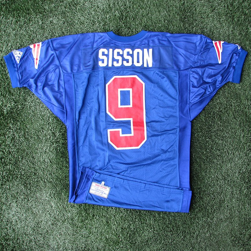 1993 Scott Sisson Team Issued #9 Royal Jersey