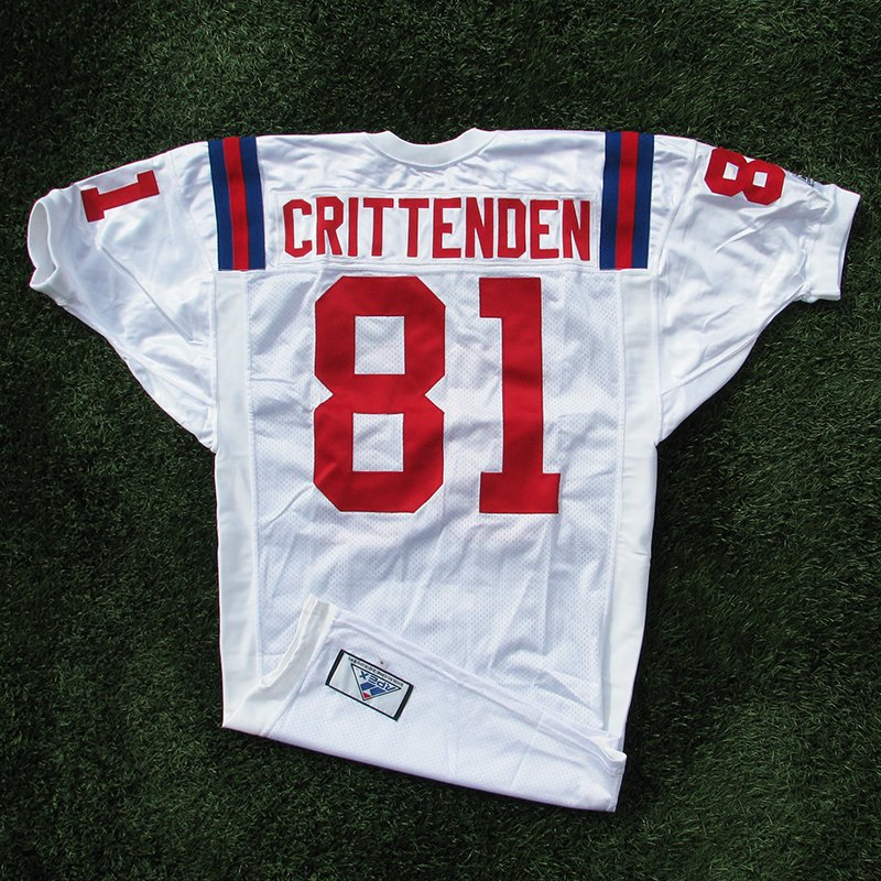 1994 Ray Crittenden Team Issued White Throwback Jersey