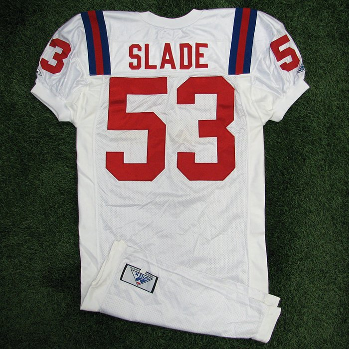 1994 Chris Slade Team Issued White Jersey