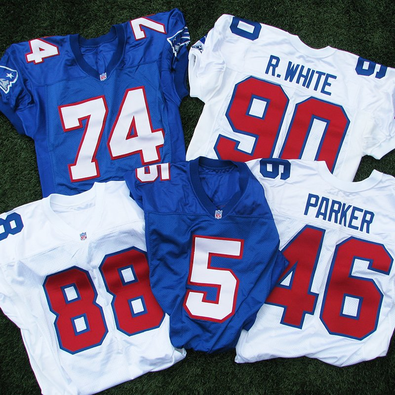 1994 Apex Team Issued Game Jerseys