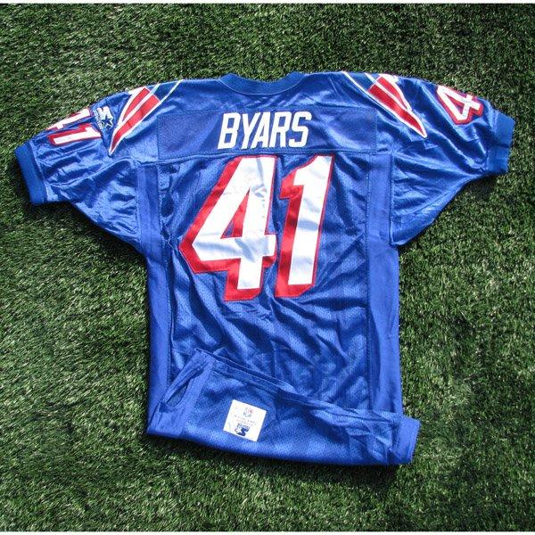1996 Keith Byars Game Worn #41 Royal Jersey