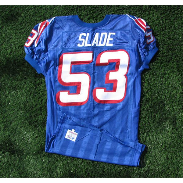 1996 Chris Slade Team Issued #53 Royal Jersey