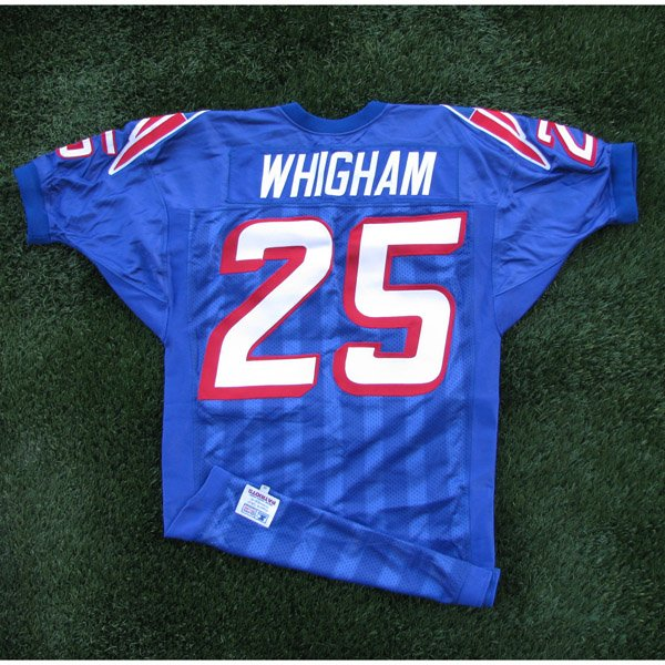 1996 Larry Whigham Team Issued 25 Royal Jersey