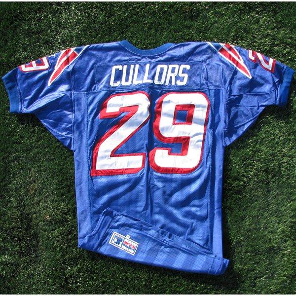 1997 Derrick Cullors Game Worn #29 Royal Jersey