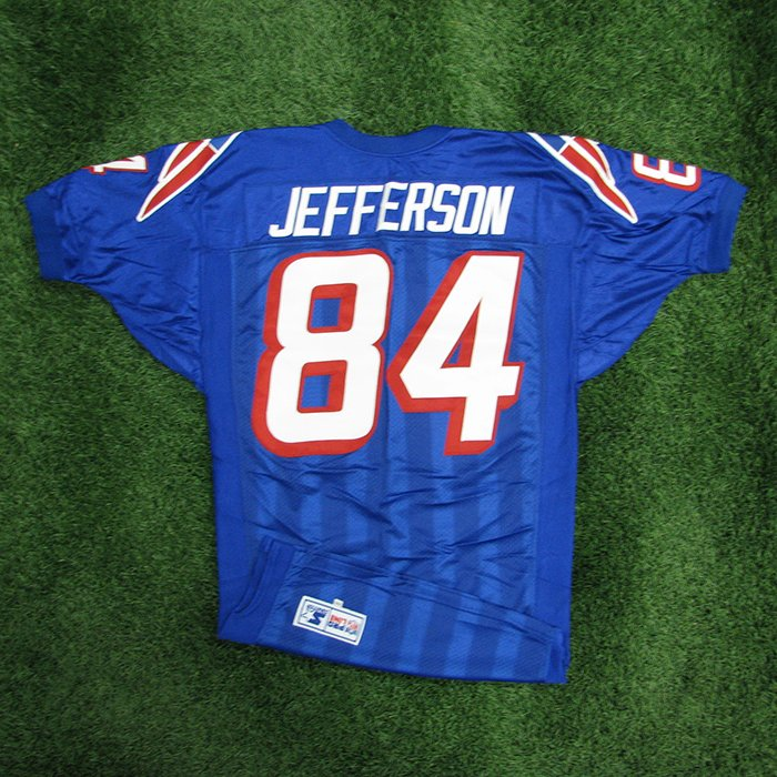 1998 Shawn Jefferson Team Issued Royal Jersey