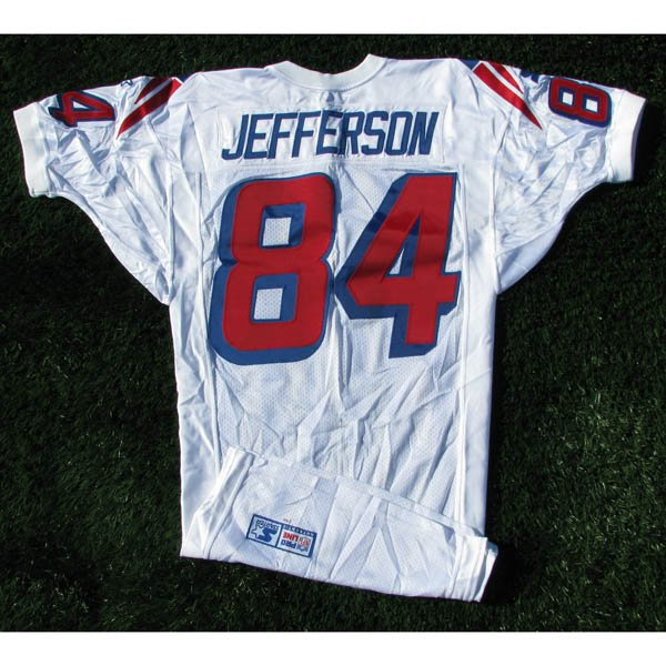 1998 Shawn Jefferson #84 White Team Issued Jersey