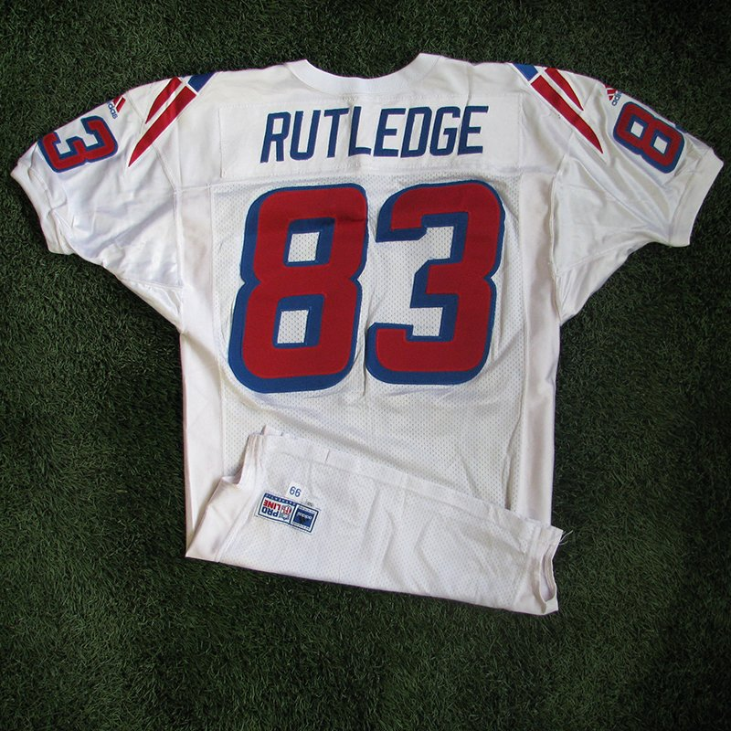 1999 Rod Rutledge Team Issued #83 White Jersey