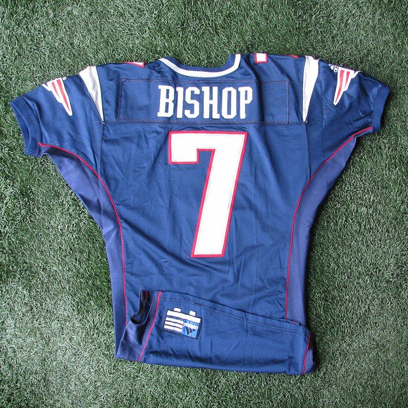 2000 Michael Bishop Team Issued #7 Navy Jersey