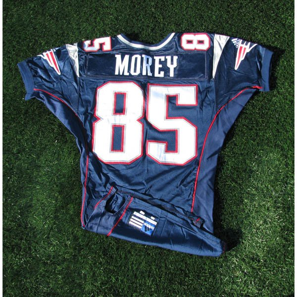 2000 Sean Morey #85 Navy Team Issued Jersey