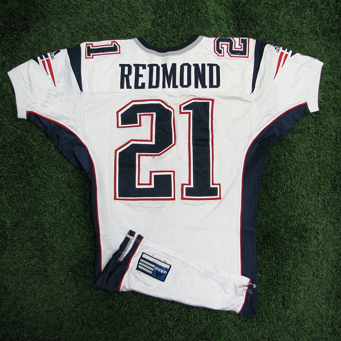 2000 JR Redmond Game Worn White Jersey
