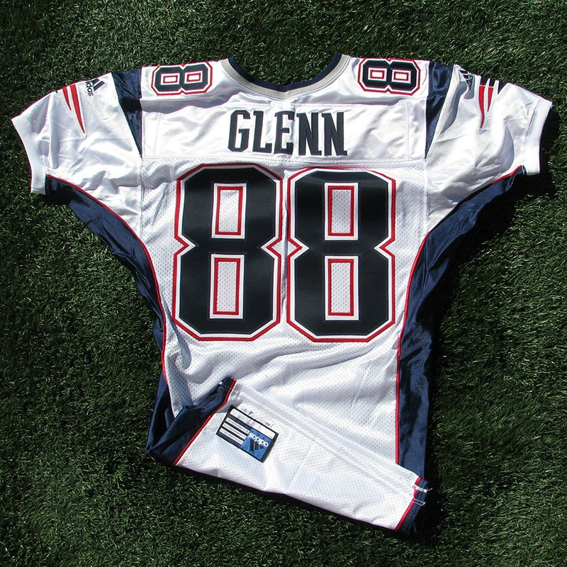 2001 Terry Glenn Team Issued #88 White Jersey