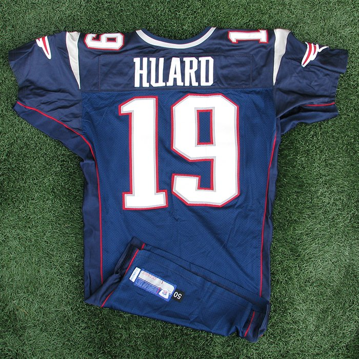 2002 Damon Huard Team Issued #19 Navy Jersey