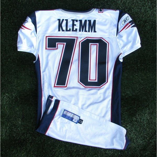 2003 Adrian Klemm Team Issued #70 White Jersey