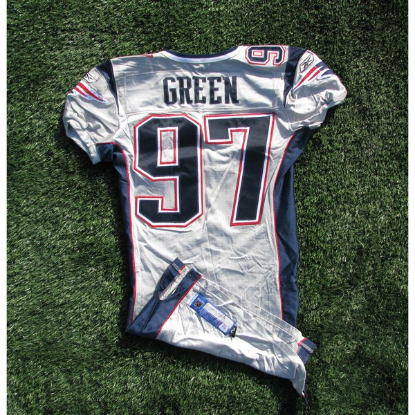 2003 Jarvis Green Game Worn #97 Silver Jersey