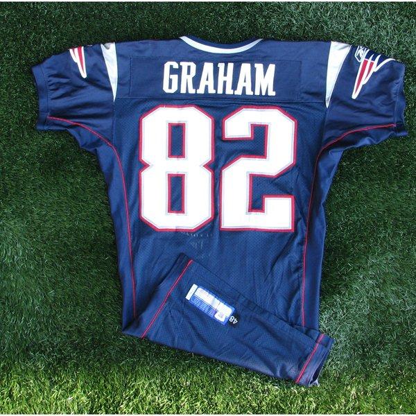 2004 Daniel Graham Game Worn #82 Navy Jersey