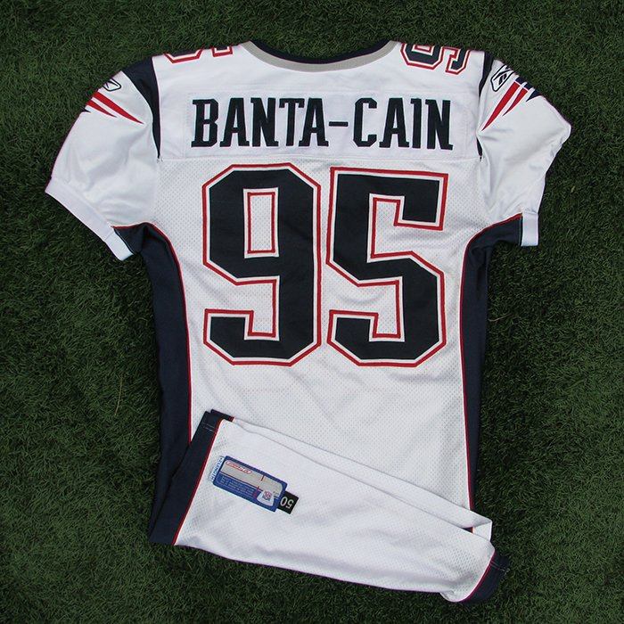 2005 Tully Banta-Cain Game Worn #95 White Jersey