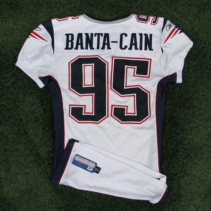 2005 Tully Banta-Cain Game Worn #95 White Jersey