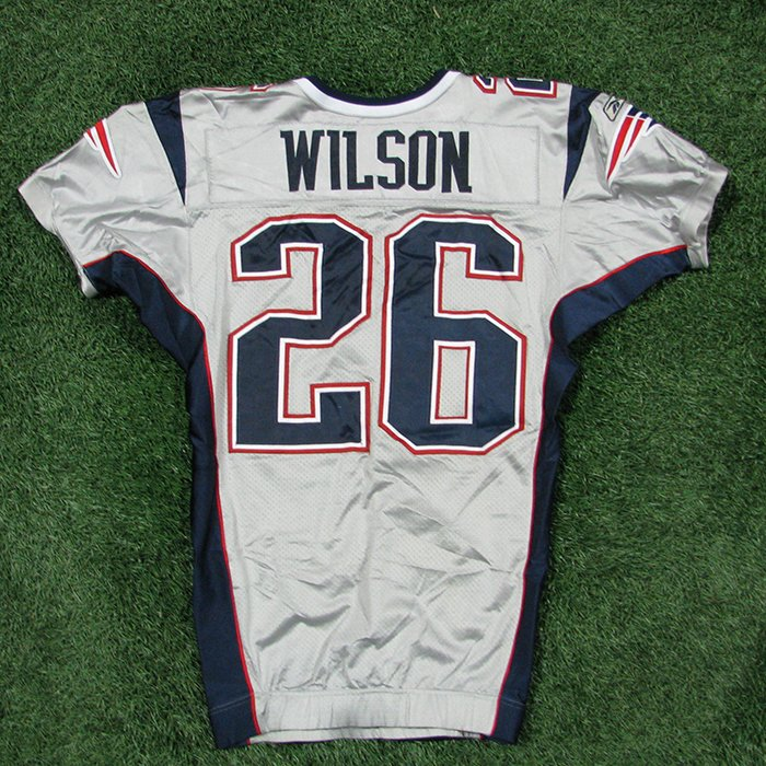 2005 Eugene Wilson Team Issued #26 Silver Jersey