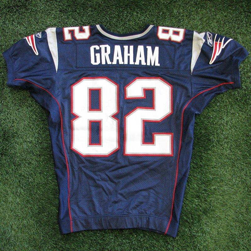 2006 Daniel Graham Game Worn #82 Navy Jersey