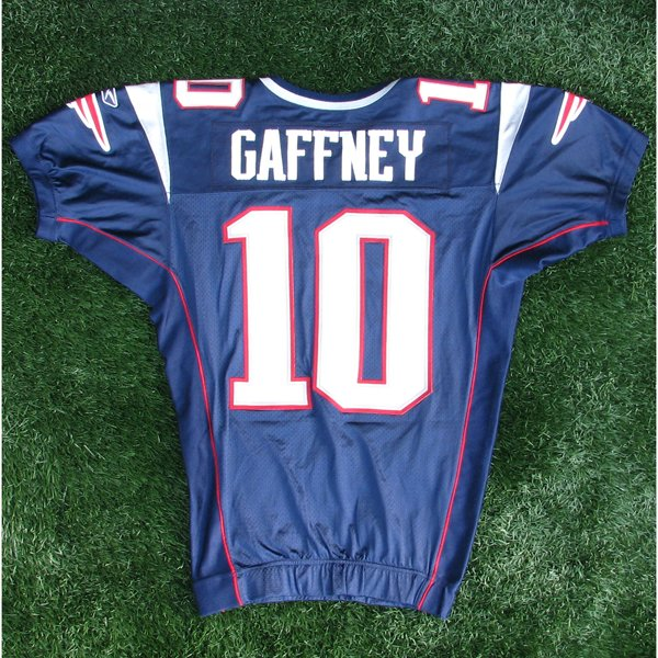 2006 Jabar Gaffney Game Worn #10 Navy Jersey