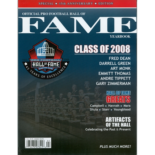 2008 NFL Hall of Fame Yearbook