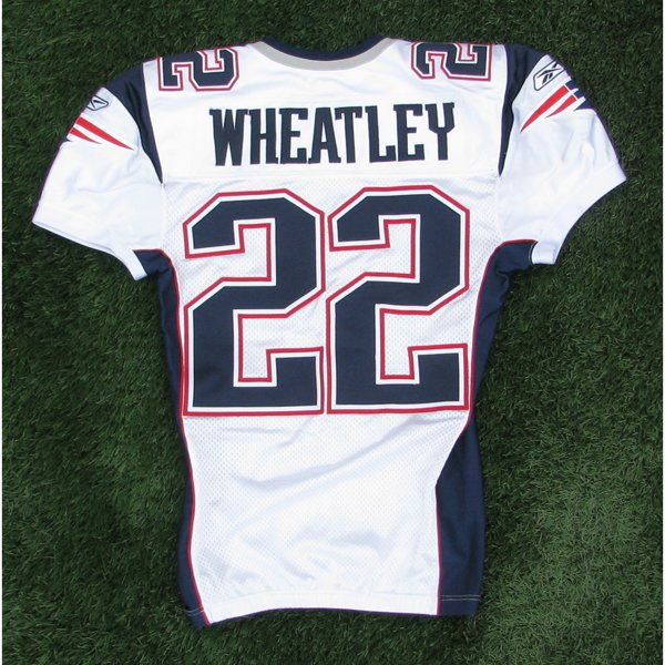 2008 Terrence Wheatley Game Worn #22 White Jersey
