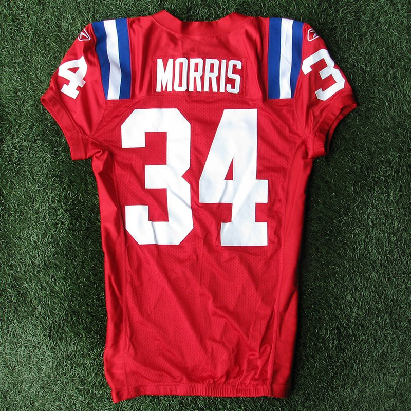 2009 Sammy Morris Team Issued #34 Throwback w/50th Patch Jersey