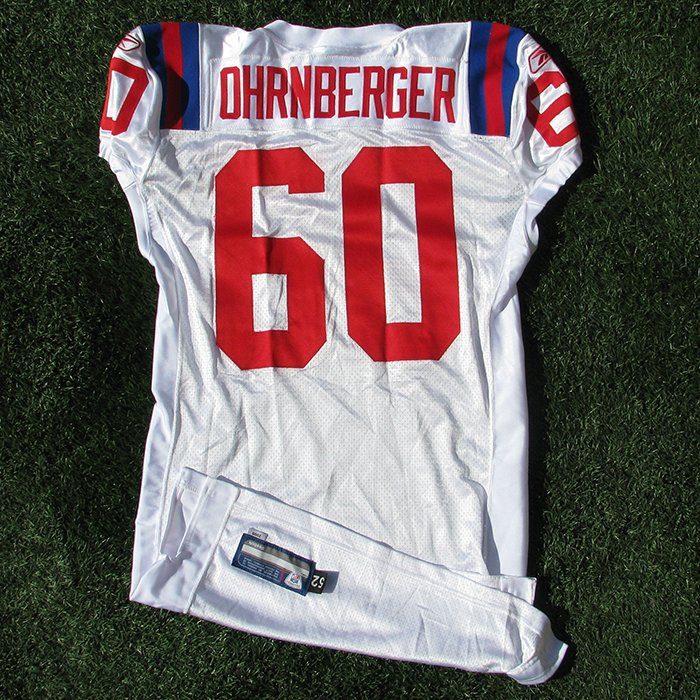 2009 Rich Ohrnberger Team Issued Throwback #60 White Jersey