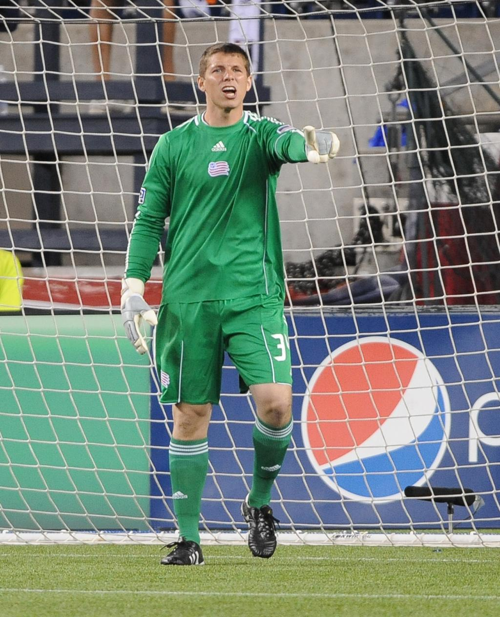 Goalkeeper Bobby Shuttleworth is expected to make his first career MLS start on Saturday night for the Revs.