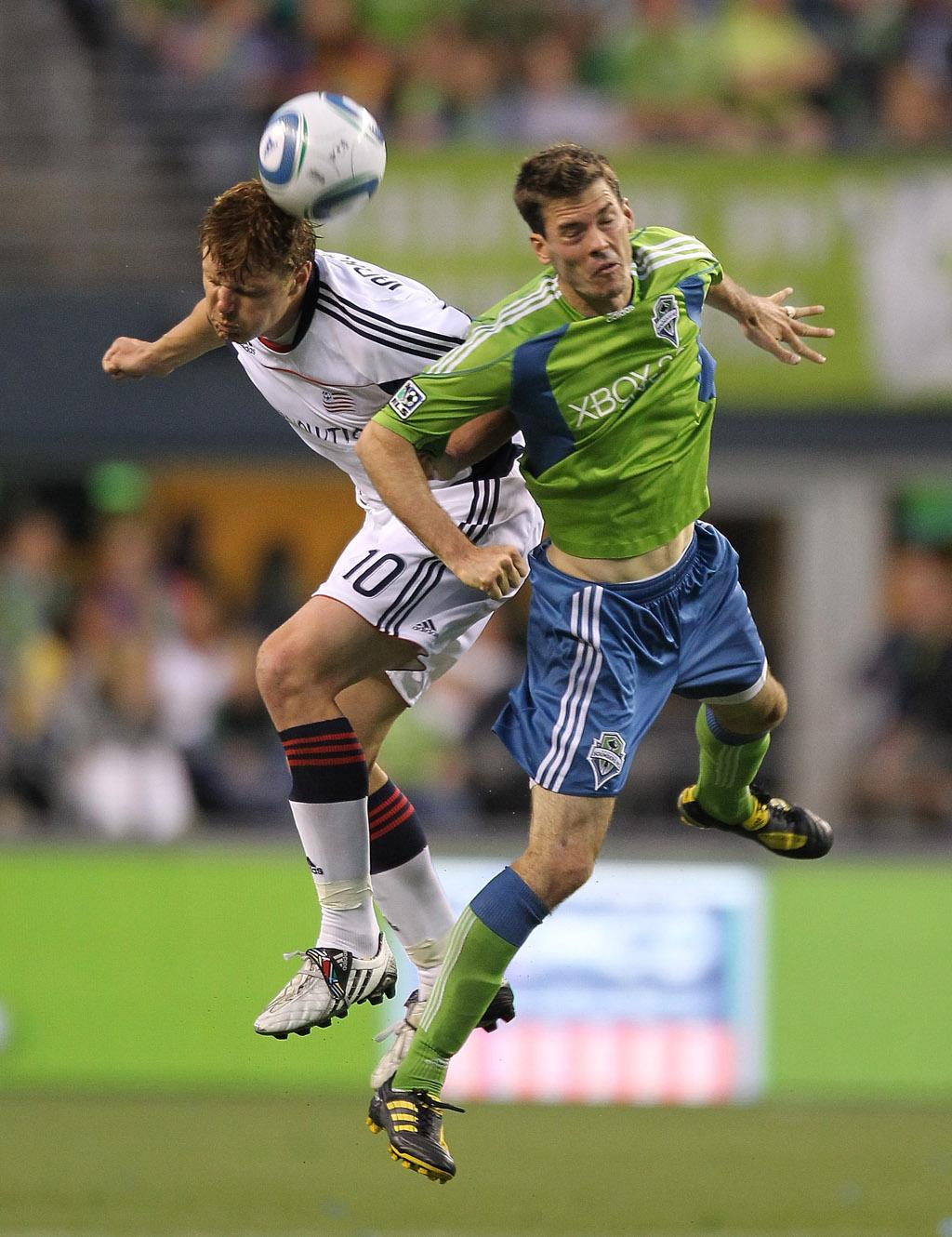 Sounders FC 3, Revolution 0