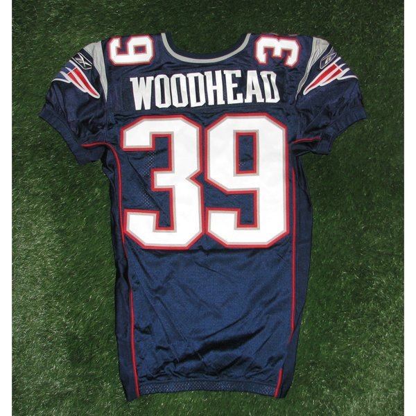 2010 Danny Woodhead Team Issued #39 Navy Jersey