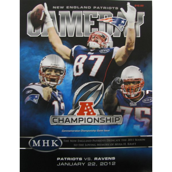2011 AFC Champs Gameday Magazine