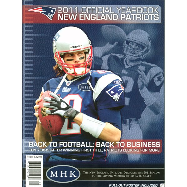 2011 New England Patriots Yearbook