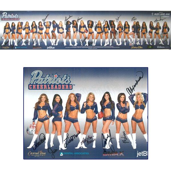 2013 Autographed Cheerleader Poster