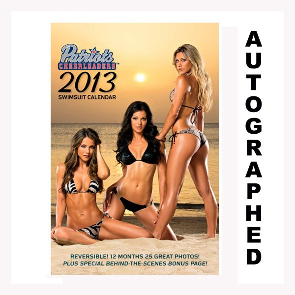 2013 Autographed Cheerleader Swimsuit Calendar