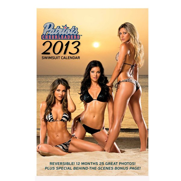 2013 Cheerleader Swimsuit Calendar