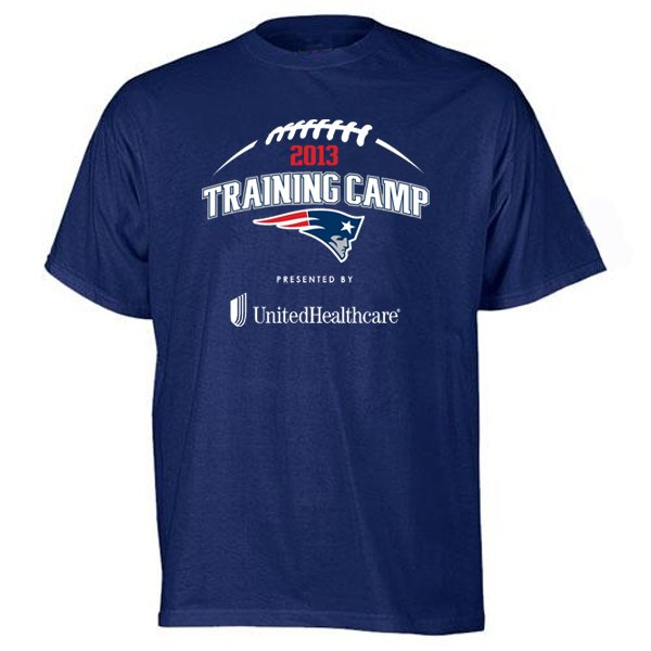 2013 Training Camp Tee-Navy