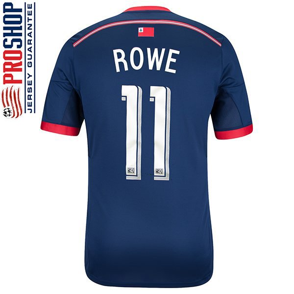 Kelyn Rowe #11 14/15 Jersey-Navy