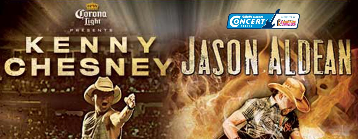Kenny Chesney and Jason Aldean Show 8/28/2015