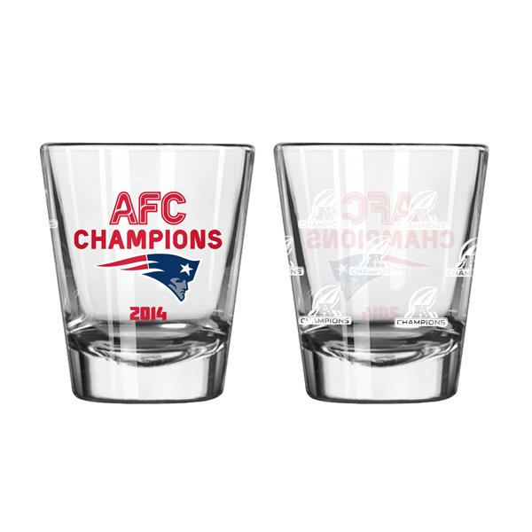 2014 AFC Champs 2oz Shot Glass
