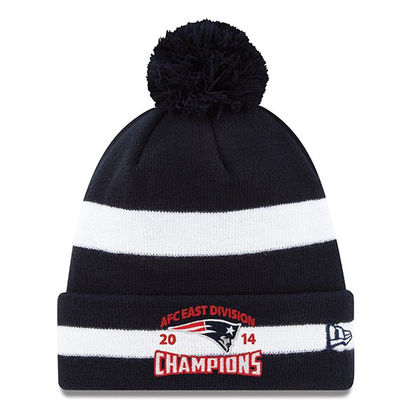 2014 AFC East Division Champs Knit Hat by New Era