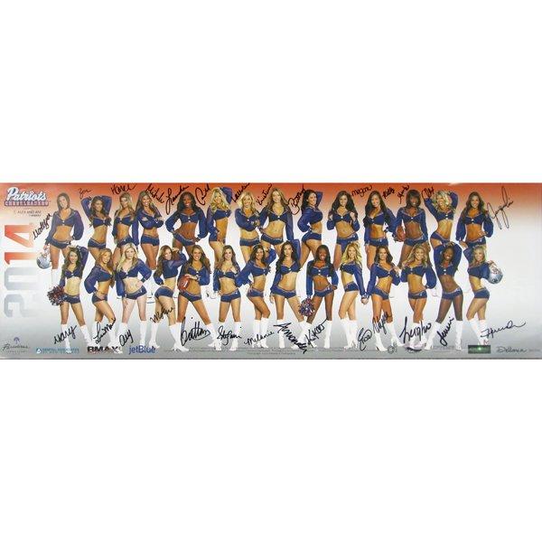 2014 Autographed Cheerleader Poster
